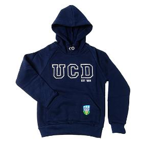 New Childrens UCD  Navy Hoody