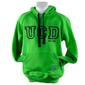 Childrens Green & Navy Hoody