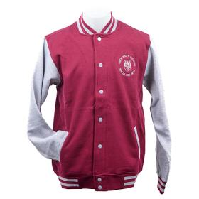 Burgundy   UCD Varsity Jacket