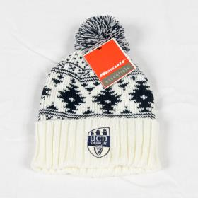 UCD Ivory and Navy Ski Hat