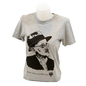 Grey James Joyce T-Shirt