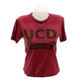 UCD Vintage Look T Shirt