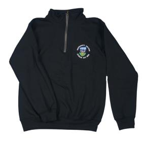 Black 1/4 Zip UCD Jumper
