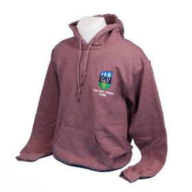Heather-Plum Lightweight Hoody